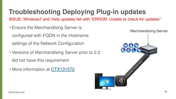 Troubleshooting Deploying Plug-in updates
