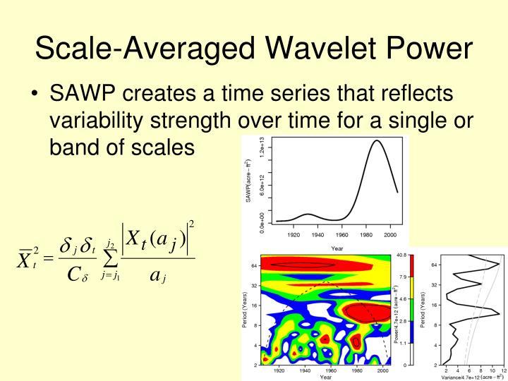 Scale-Averaged Wavelet Power