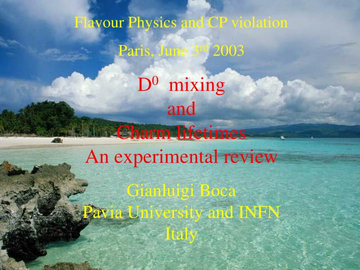 Flavour Physics and CP violation