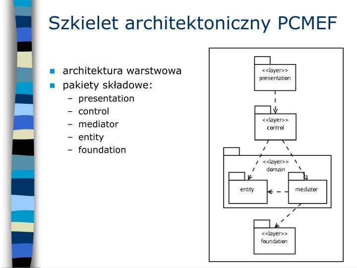 Szkielet architektoniczny PCMEF