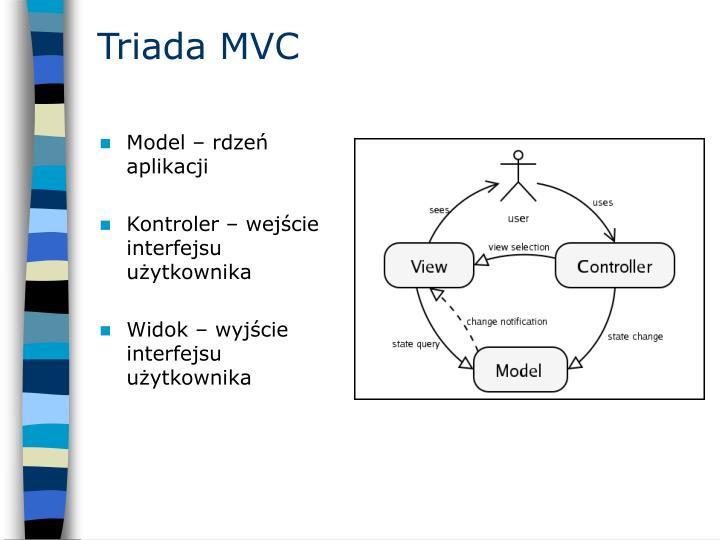 Triada MVC