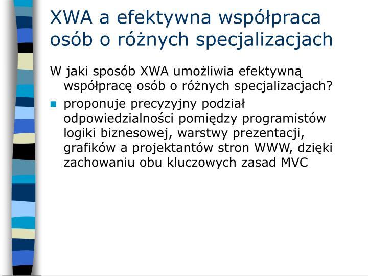 XWA a efektywna współpraca osób o różnych specjalizacjach