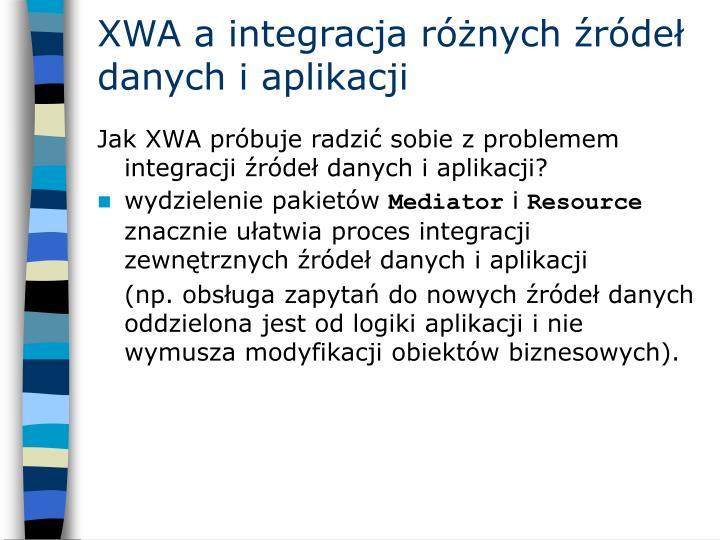 XWA a integracja różnych źródeł danych i aplikacji