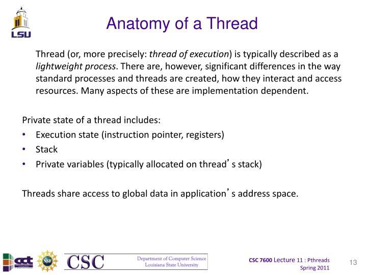 Anatomy of a Thread