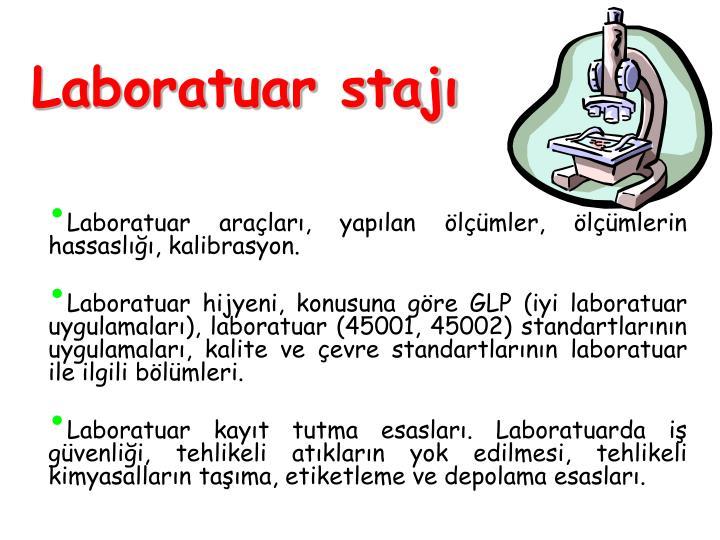Laboratuar stajı