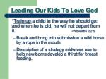 leading our kids to love god4