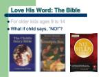 love his word the bible3