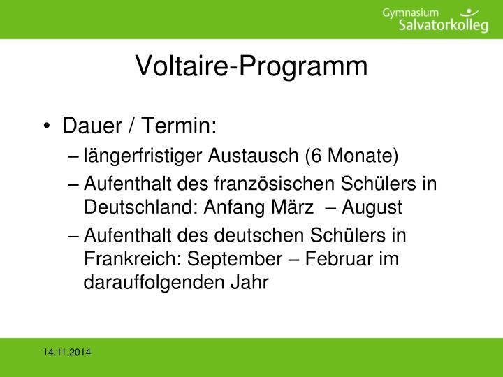 Voltaire-Programm