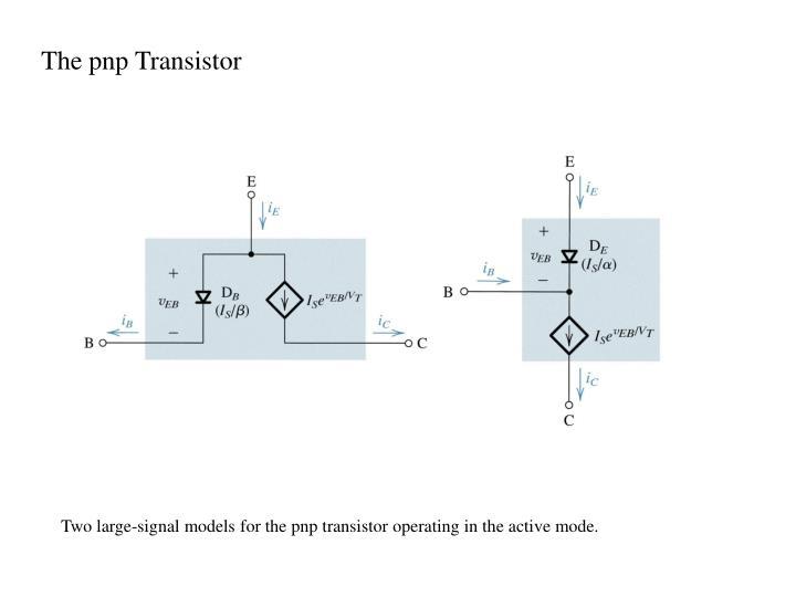 The pnp Transistor