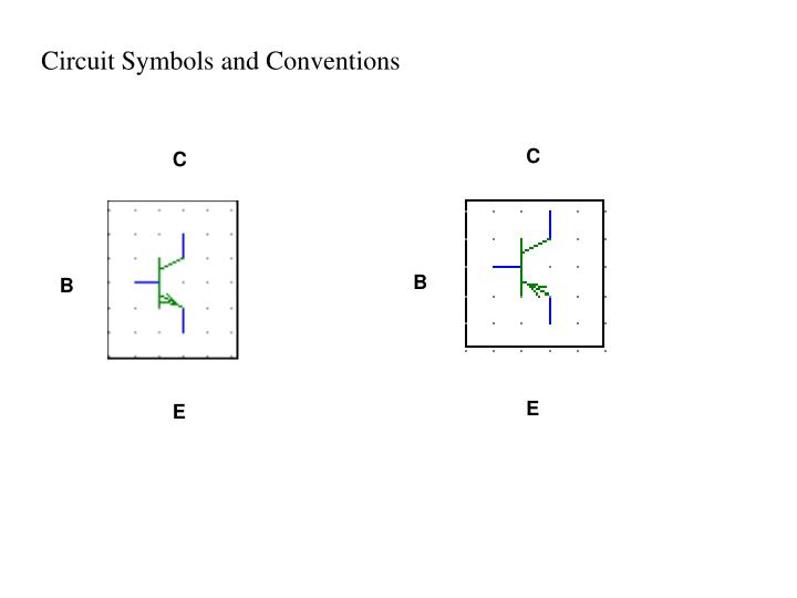 Circuit Symbols and Conventions