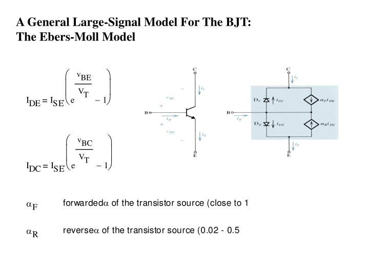 A General Large-Signal Model For The BJT: