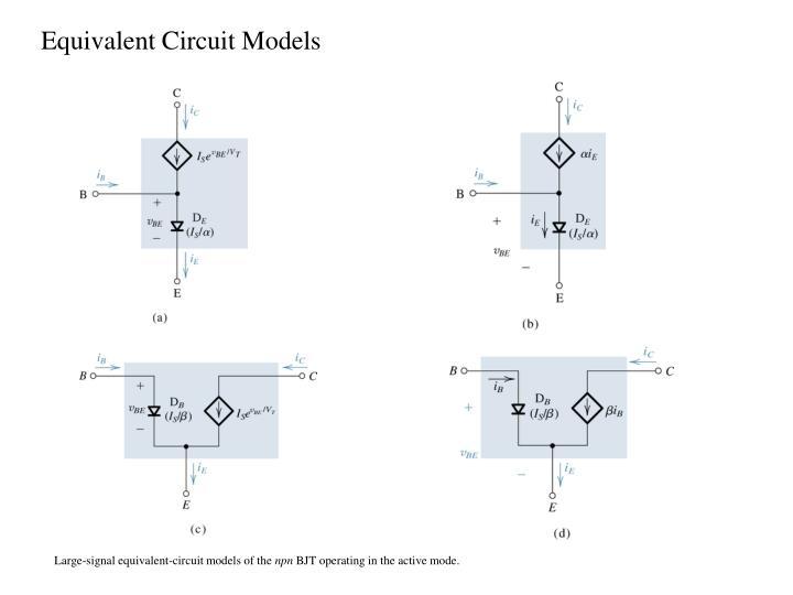 Equivalent Circuit Models