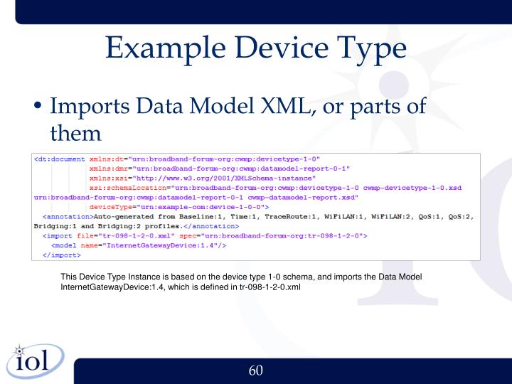 Example Device Type