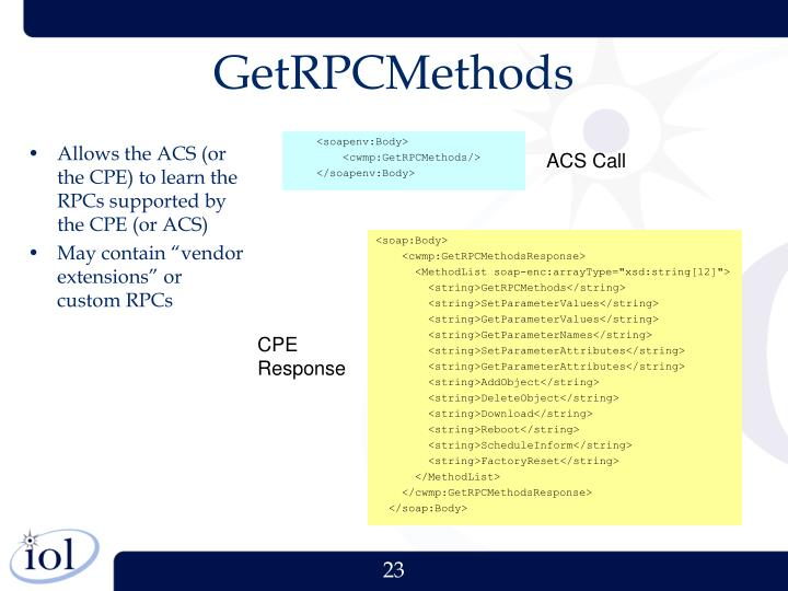 GetRPCMethods