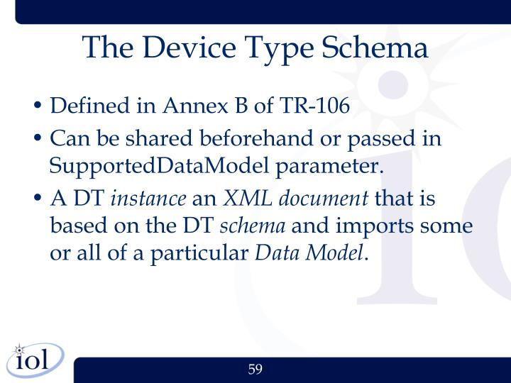 The Device Type Schema