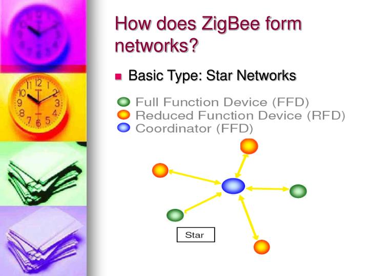 How does ZigBee form networks?