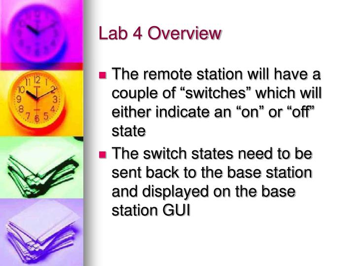 Lab 4 Overview