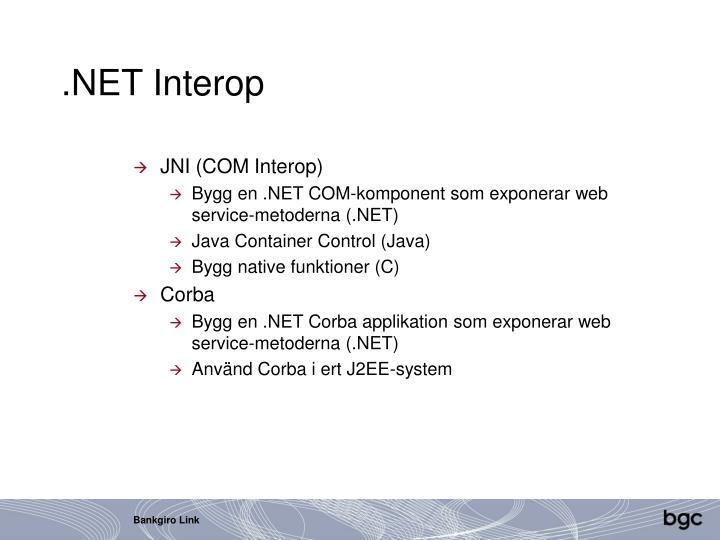 .NET Interop