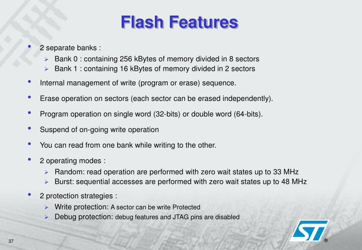 Flash Features