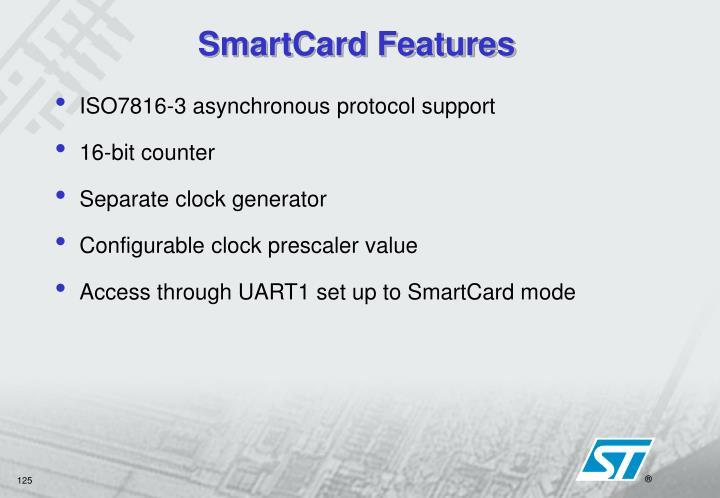 SmartCard Features