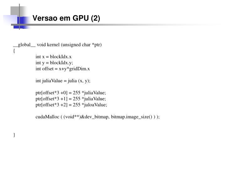 Versao em GPU (2)