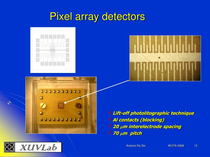 Pixel array detectors