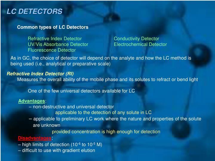 LC DETECTORS