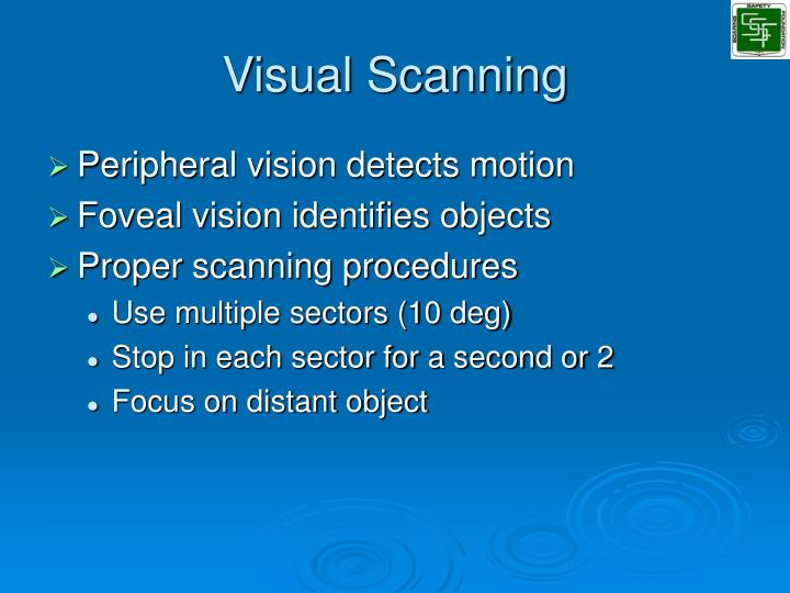 Visual Scanning