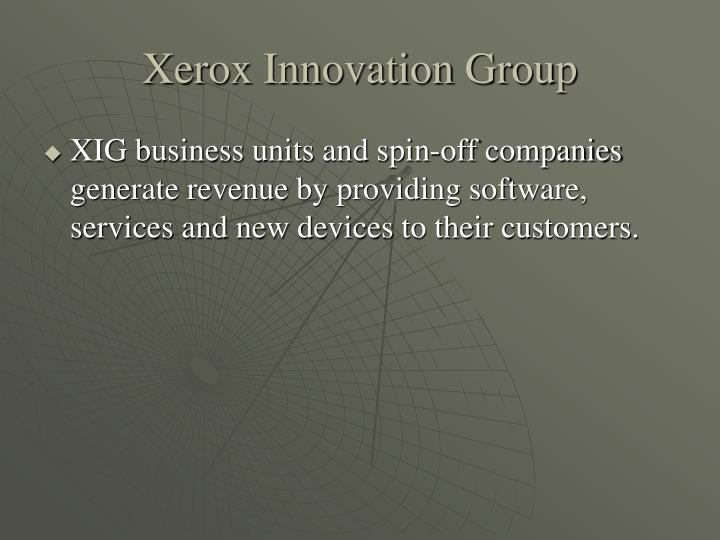 Xerox Innovation Group