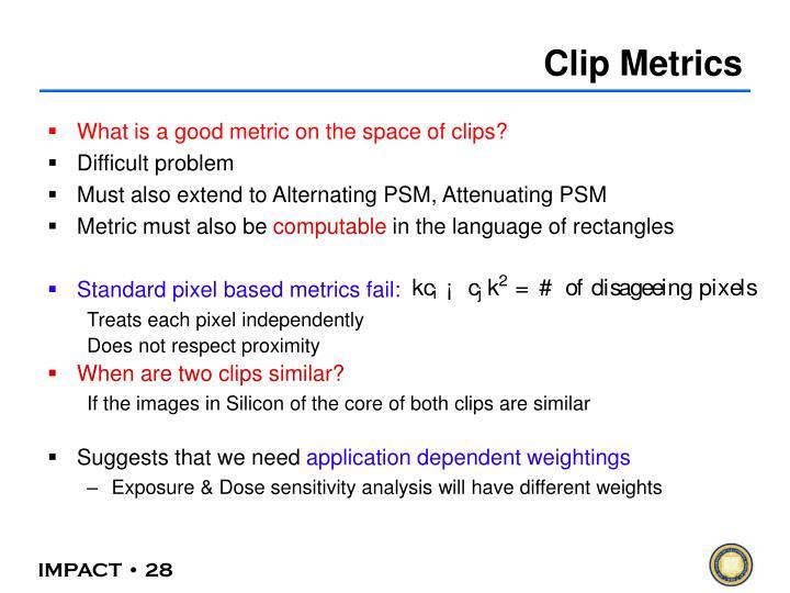 Clip Metrics