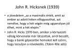 john r hicksnek 1939