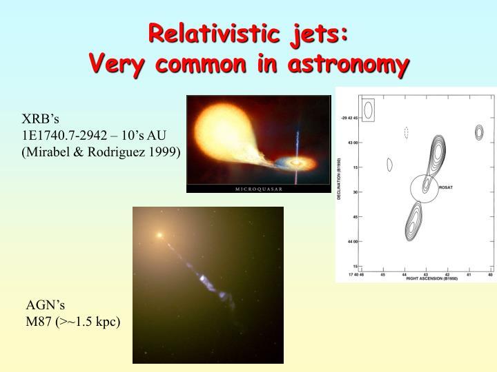 Relativistic jets: