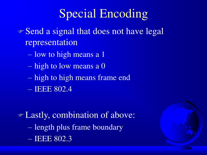 Send a signal that does not have legal representation