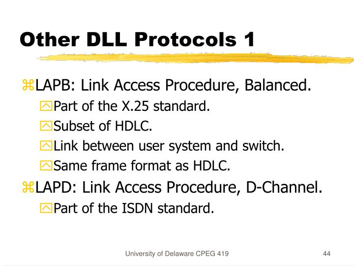 Other DLL Protocols 1