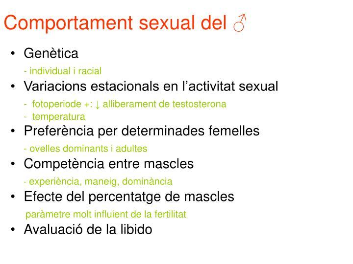 Comportament sexual del