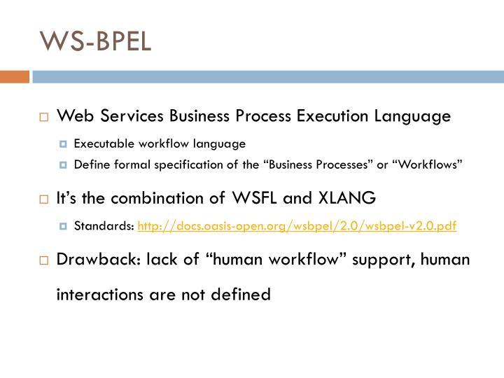 WS-BPEL