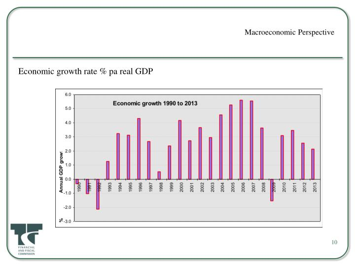 Macroeconomic Perspective