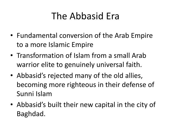 The Abbasid Era