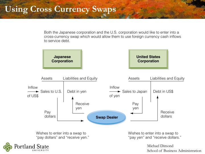 Using Cross Currency Swaps