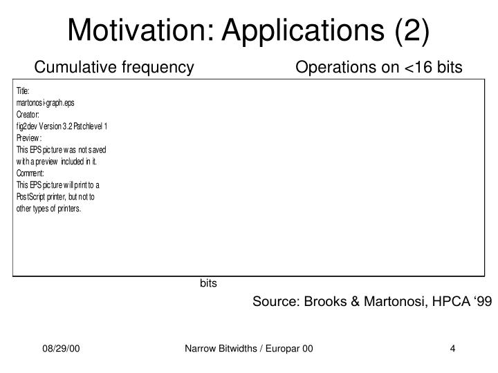 Motivation: Applications (2)