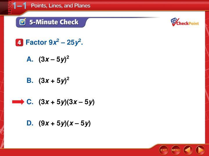 Factor 9