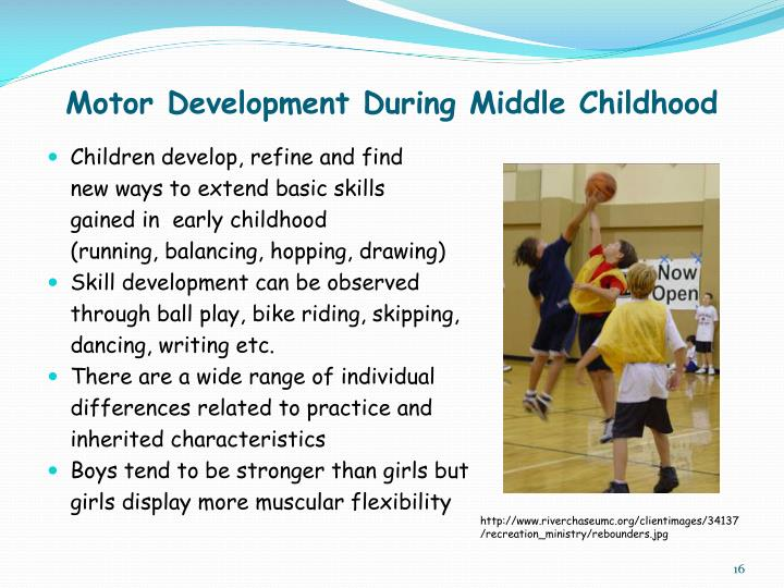 Motor Development During Middle Childhood