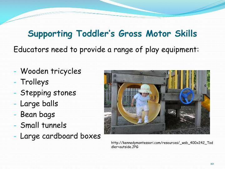 Supporting Toddler's Gross Motor Skills