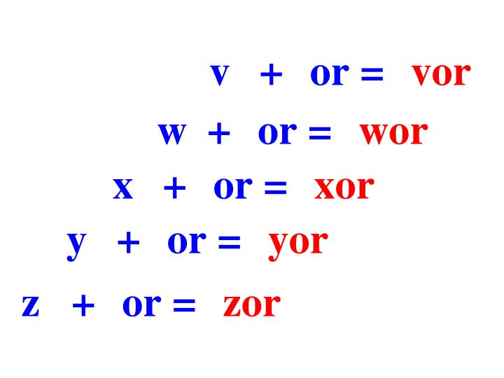 v+or=