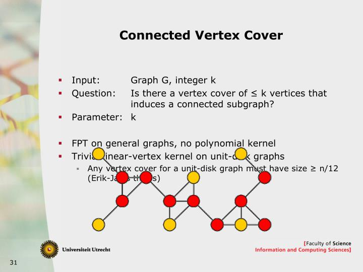 Connected Vertex Cover