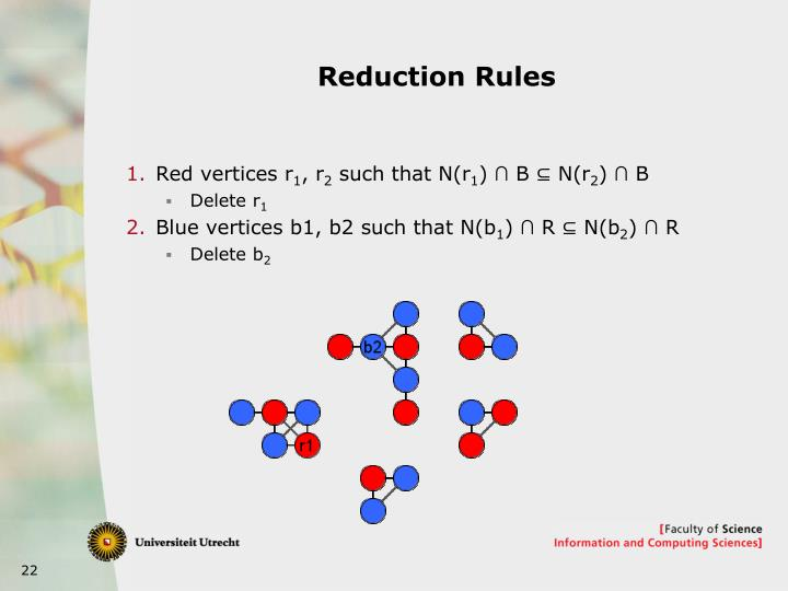 Reduction Rules