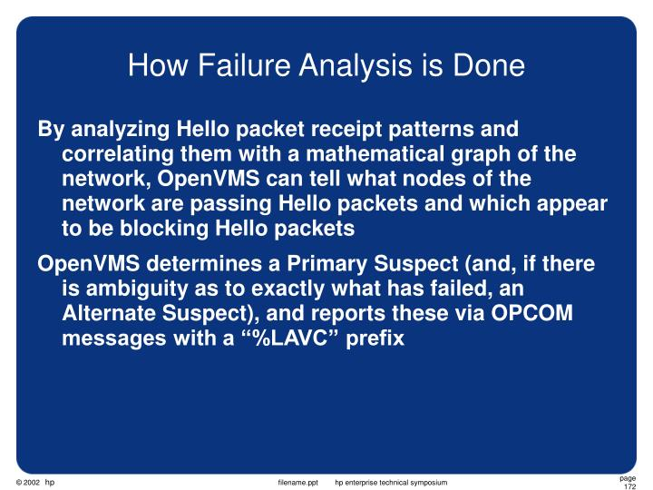 How Failure Analysis is Done