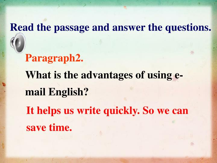 Read the passage and answer the questions.