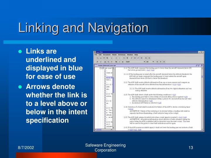Linking and Navigation