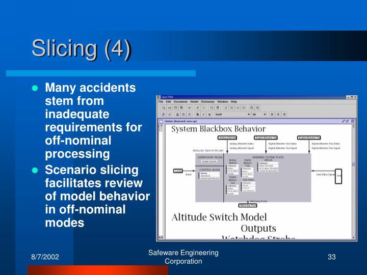 Slicing (4)